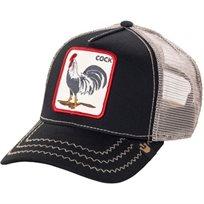 GOORIN יוניסקס// ROOSTER BLACK כובע מצחייה חיות