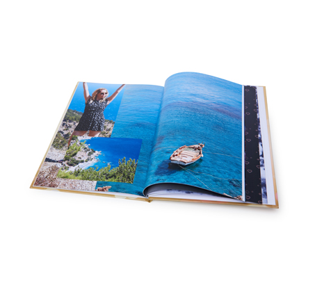 אלבום דיגיטלי איכותי A4 אנכי בכריכה קשה, 32 עמודים - תמונה 2