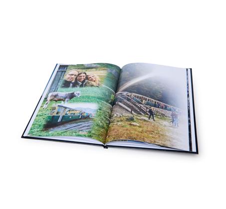 אלבום דיגיטלי איכותי A4 אנכי בכריכה קשה, 32 עמודים - תמונה 4