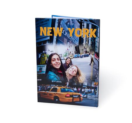 אלבום דיגיטלי איכותי A4 אנכי בכריכה קשה, 32 עמודים