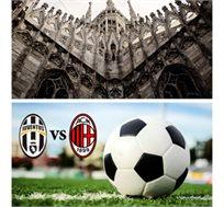 8 ימי טיול מאורגן לצפון איטליה עם כדורגל איטלקי, מילאן מול יובנטוס החל מכ-$858*