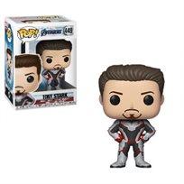 Funko Pop - Tony Stark  (Avengers Endgame ) 449  בובת פופ הנוקמים החדש