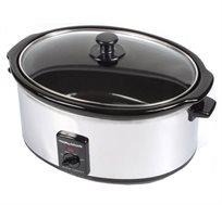 סיר בישול איטי 8 ליטר מתאים לבישול אחיד של כל סוגי המזון Morphy Richards דגם 48735