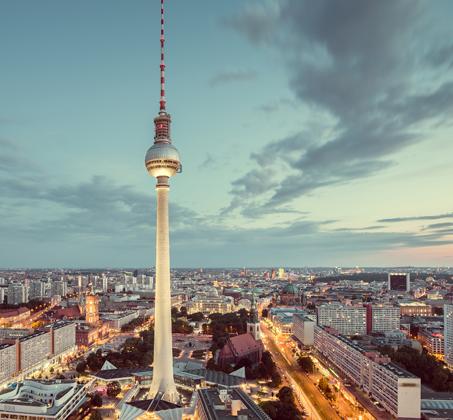 """חופשת הפסח בברלין, חבילת נופש ל-5 לילות כולל טיסות ולינה ע""""ב א.בוקר רק בכ-$930*"""