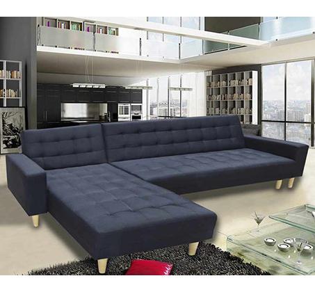 ספה פינתית מודולארית נפתחת למיטה GAROX דגם טוסקנה