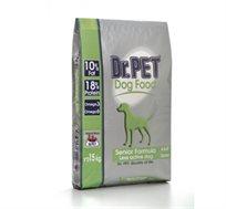"""מזון DR. PET לכלב זקן 15 ק""""ג"""