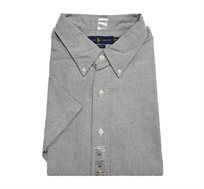 חולצה מכופתרת עם שרוול קצר לגבר POLO RALPH LAUREN מידות גדולות בצבע אפור