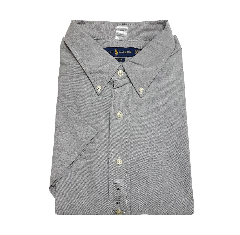 חולצה מכופתרת POLO RALPH LAUREN מידות גדולות - אפור
