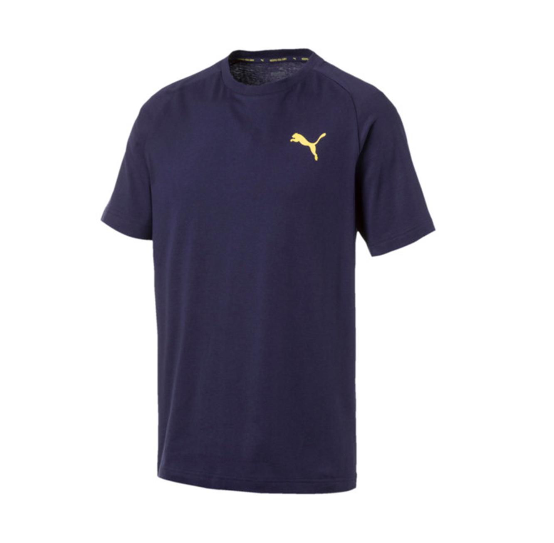 חולצת טי דגם L85419306 לגברים - כחול