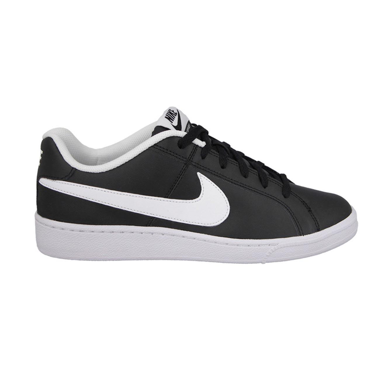 נעלי סניקרס לגבר נייקי COURT ROYALE 749747-010 - שחור/לבן