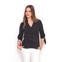 חולצת גבריאלה 34 שחורה