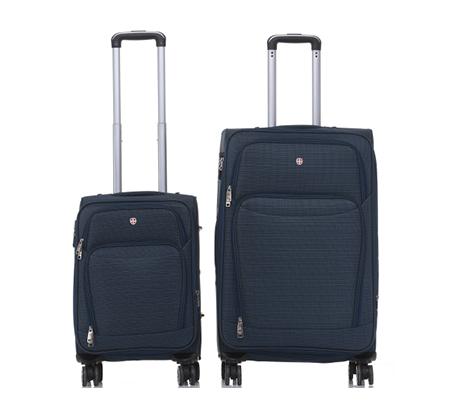 סט 2 מזוודות בד Swiss Lucerne - משלוח חינם - תמונה 2