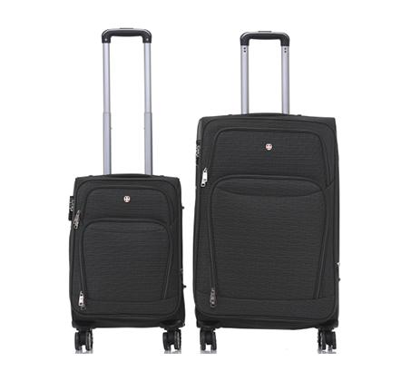 סט 2 מזוודות בד Swiss Lucerne - משלוח חינם - תמונה 3