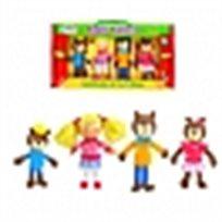 סט בובות אצבע זהבה ושלושת הדובים Fiesta Crafts