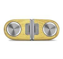 רמקולים Coral Tango Bluetooth Speakers Wood grain