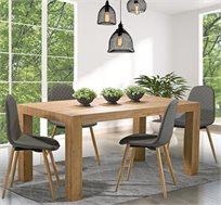סט פינת אוכל דגם בונטון ביתילי הכולל שולחן ו-4 כסאות דגם סיל