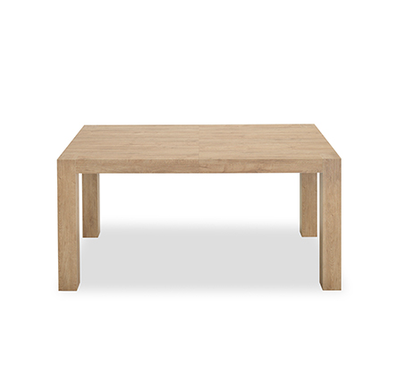 סט פינת אוכל בונטון ביתילי שולחן אוכל + 4 כסאות בצבע חום/אפור רגלי בוק אלגנטיות מרופדות דמוי עור  - תמונה 2