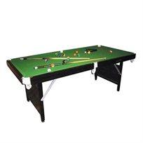 חגיגה בסנוקר! שולחן סנוקר חזק ויציב ביותר מסוגו בגודל 6 פיט מבית CITYSPORT