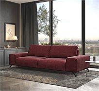 ספה מודרנית מרופדת בד קטיפתי HOME DECOR דגם MARTIN