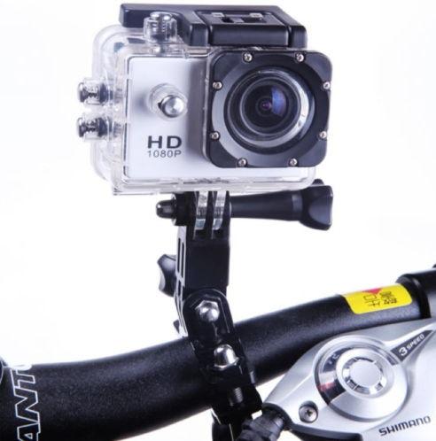 מצלמת אקסטרים FULL HD משולבת לפעילויות ספורט ופנאי + צג אחורי צבעוני ויציאת HDMI - תמונה 5