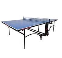 שולחן טניס חוץ איכותי עם פלטות בציפוי אלומיניום כפול