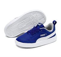 נעלי סניקרס Puma Courtflex Mesh PS לילדים ונוער - כחול