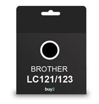 ראש דיו תואם BROTHER LC121/123 שחור