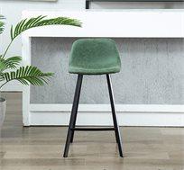 כסא בר מרופד בעיצוב מודרני