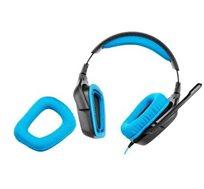 אוזניות גיימרים Logitech G430 7.1 Surround Sound