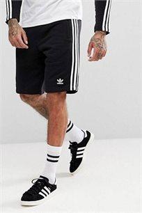 מכנסי ברמודה לגברים Adidas בצבע שחור