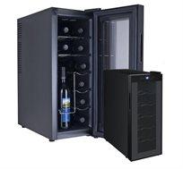 מקרר יין 12 בקבוקים בעיצוב חדשני דגם DIAMLLER WINE CELLAR BCW35A