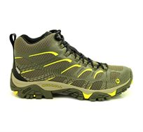 נעלי מירל לגברים דגם J09459 - ירוק זית וצהוב