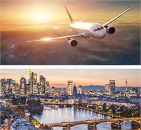 """טיסה ומלון לפרנקפורט ל-3-4 לילות גם בסופ""""ש החל מכ-$419* לאדם!"""