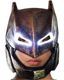 מסכת שריון מוארת על כל הראש לבאטמן - מבוגרים