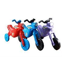 בימבת יוטבתה בצורת אופנוע מונעת בדחיפה עם הרגליים ב-4 צבעים לבחירה