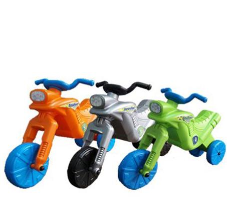 בימבת יוטבתה בצורת אופנוע מונעת בדחיפה עם הרגליים ב-4 צבעים לבחירה - תמונה 2