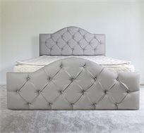 מיטה זוגית מעוצבת דגם 6005 אולימפיה במגוון צבעים לבחירה