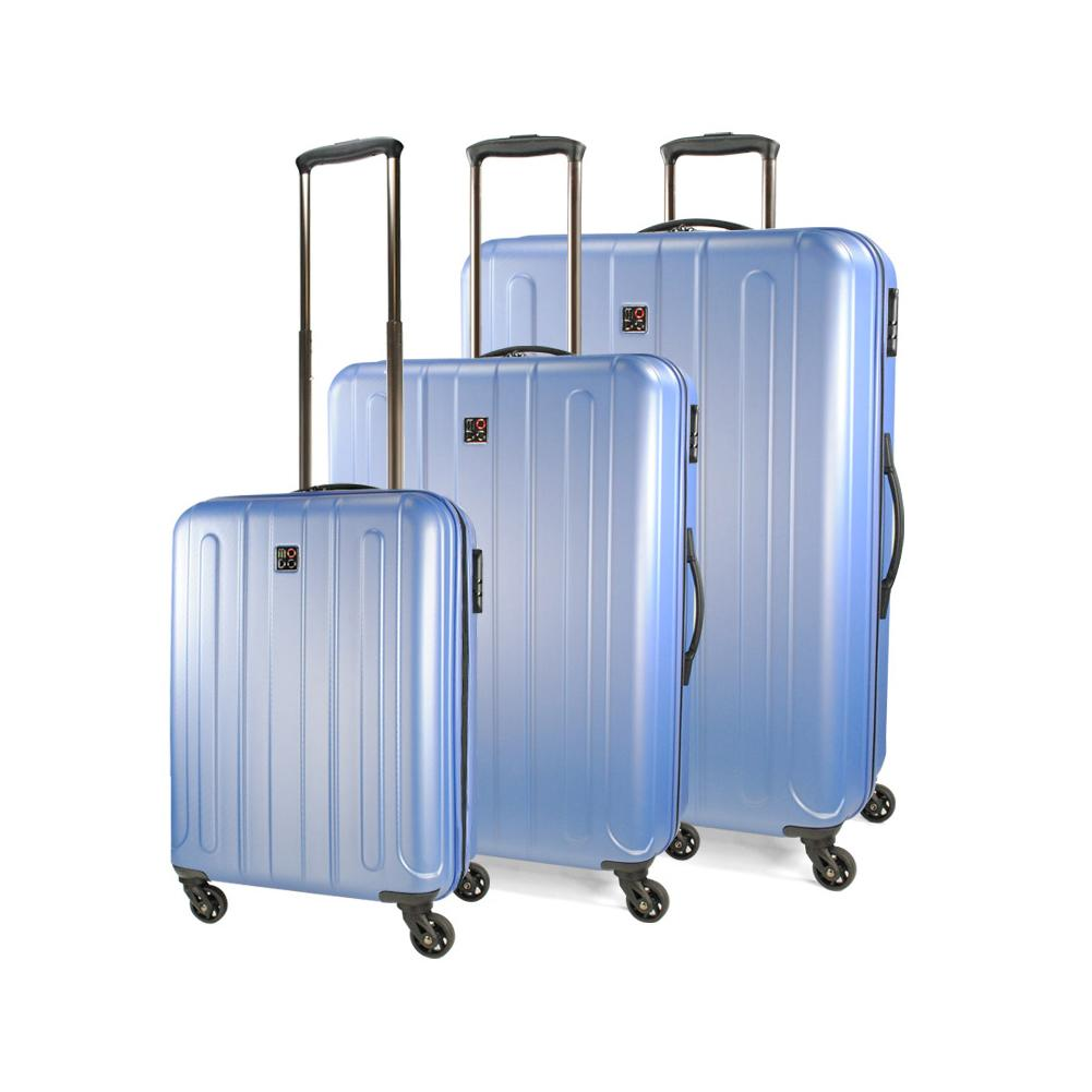 סט 3 מזוודות טרולי דגם SUPERNOVA במגוון צבעים