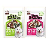 מארז עצמות דנטליות לכלב בעלות טעימות גבוהה לניקוי וחיזוק השיניים