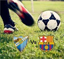 כדורגל רואים במגרש! ברסה מול מלגה! כולל 3 לילות בברצלונה+כרטיס החל מכ-€669* לאדם