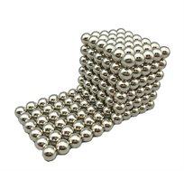 קוביית מגנט בעלת 216 כדורי מגנט ליצירת אינסוף דגמים וצורות