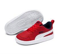 נעלי סניקרס Puma Courtflex PS לילדים ונוער - אדום