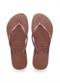 HAVAIANAS נשים // SLIM BRONZE NUDE