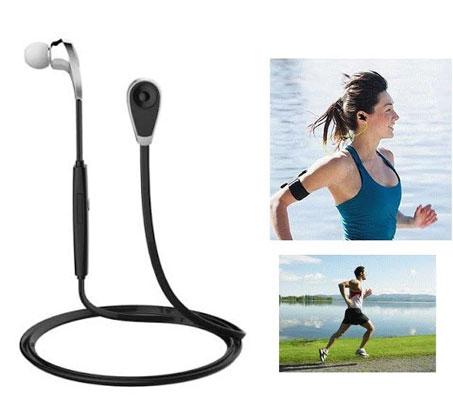 אוזניות סטריאו BLUETOOTH אלחוטיות לנגנים וטלפונים סלולאריים תומכי IPHONE ו-ANDROID   - משלוח חינם - תמונה 3