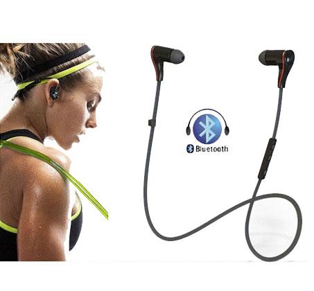 אוזניות סטריאו BLUETOOTH אלחוטיות לנגנים וטלפונים סלולאריים תומכי IPHONE ו-ANDROID   - משלוח חינם - תמונה 2