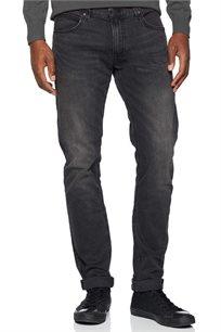 ג'ינס סלים פיט LEE לגברים בצבע שחור