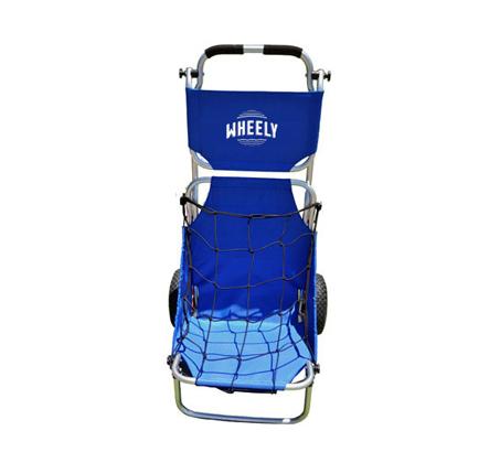 WHEELY - כיסא נוח שהוא גם עגלה לים, לפיקניק ועוד