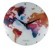 שעון קיר עולם צבעוני