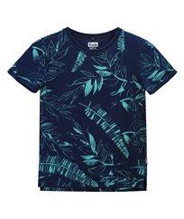 חולצת לייקרה עם דפוס אול-אובר