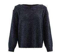 סוודר מעוטר כפתורים PROMOD לנשים - צבע לבחירה